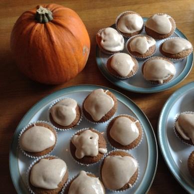Pumpkin-Spiced Cupcakes