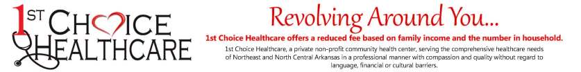 Banner ad First Choice Healthcare