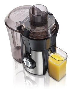 Hamilton Beach 67608A Big Mouth Juice Extractor, Metallic