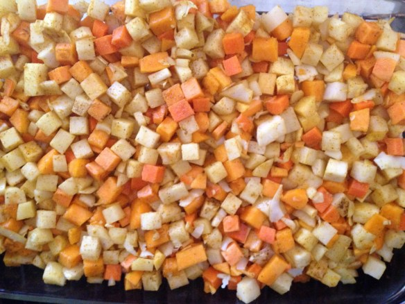Roasted Vegetables Indian Style