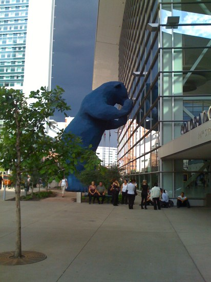 ours bleu denver