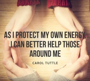 Protect my energy