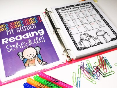 Are you ready to organize all of your guided reading materials once and for all? In this blog post, you will pictures of how this teacher organizes her resources for guided reading. Click to read more and get your guided reading materials organized today! -Inspire Me ASAP