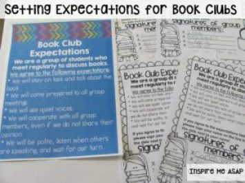 How do you set your students up for success when implementing book clubs? This blog post explains different strategies used to encourage high expectations from all book club groups.