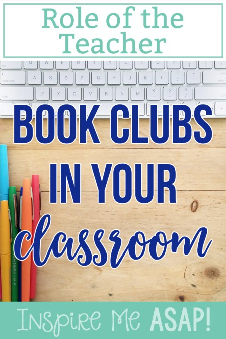 Are you looking to learn more about how to implement book clubs into your primary classroom? This blog post is one of an eight post series on successfully implementing book clubs into your classroom. Click here read more about the important roles of the teacher during book clubs.