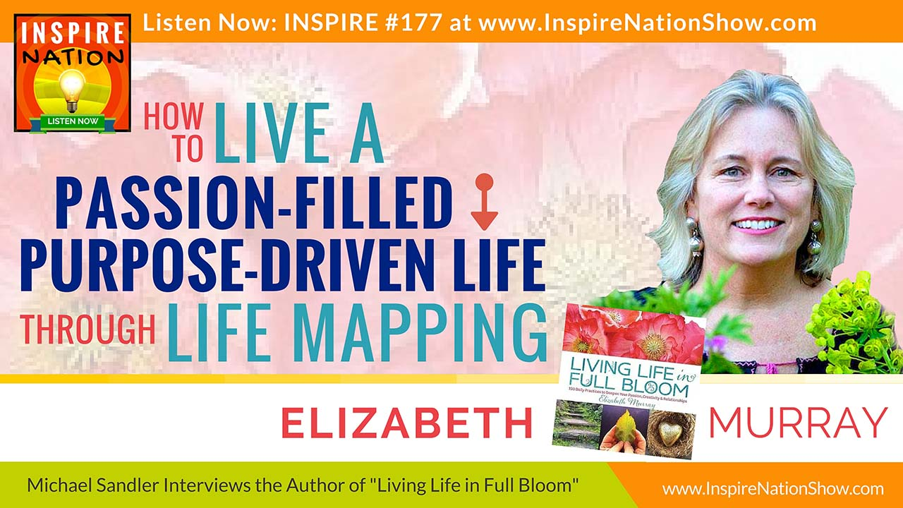 Listen to Michael Sandler's interview with Elizabeth Murray on life mapping!