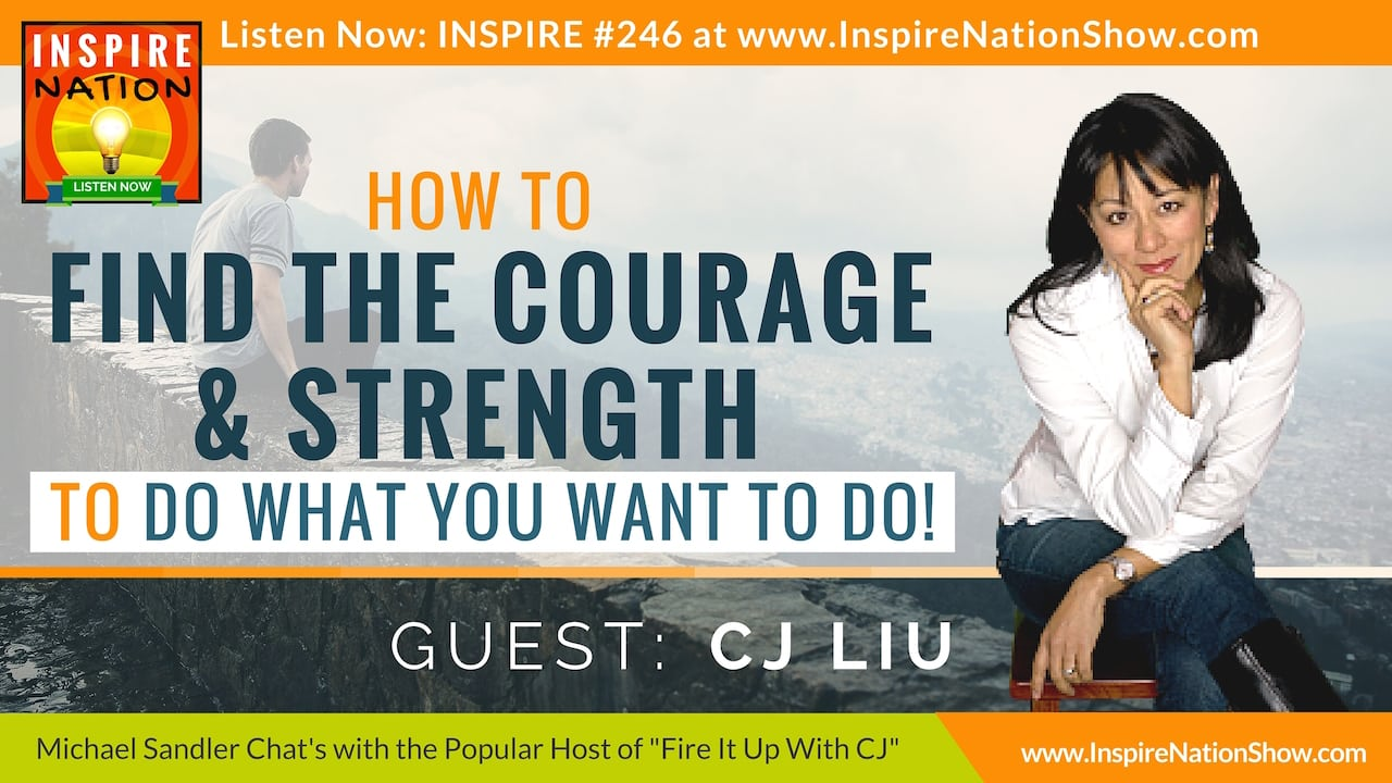Listen to Michael Sandler's talk with CJ Liu on finding the courage to pursue your dreams!