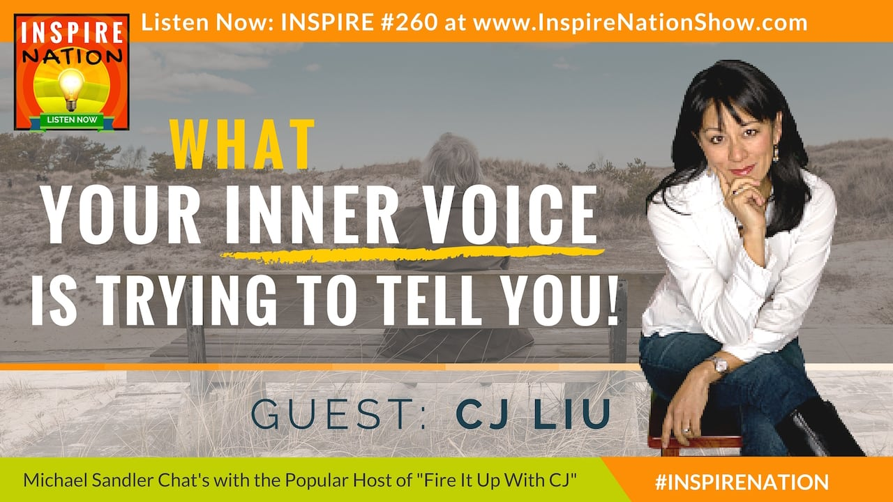 Listen to Michael Sandler's conversation with CJ Liu on listening to your inner voice!