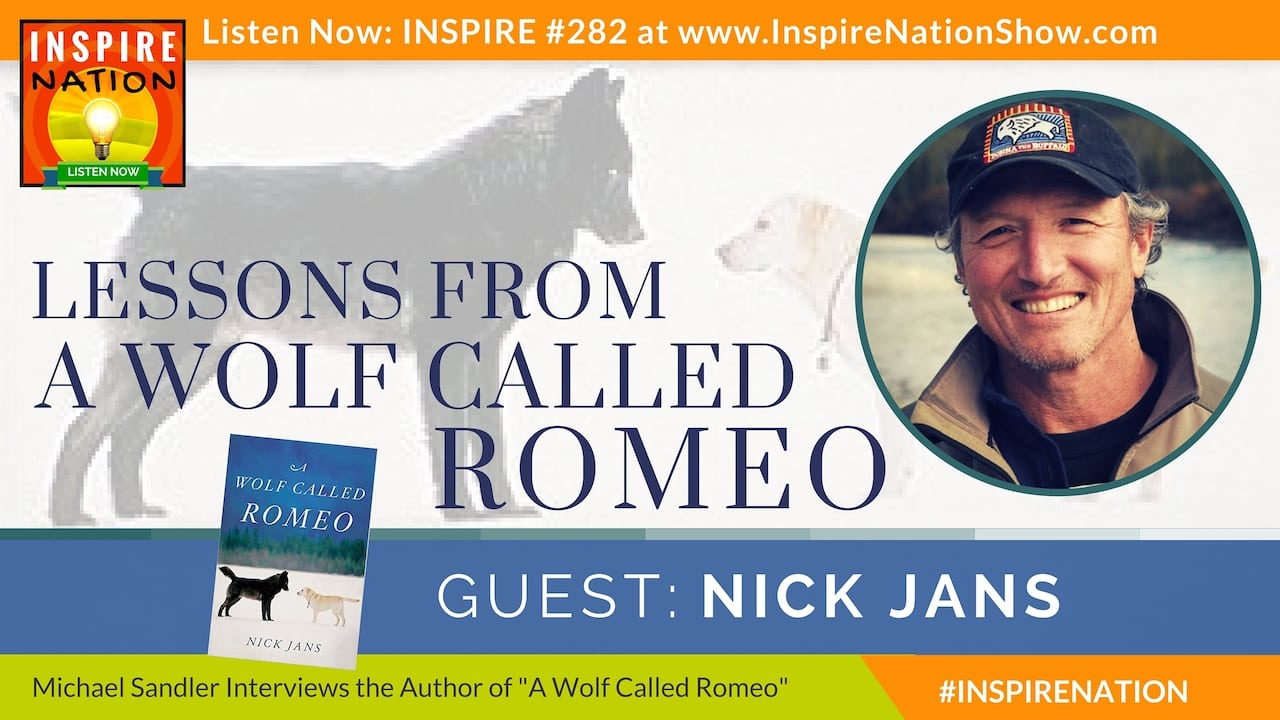 Listen to Michael Sandler's interview with Nick Jans on A Wolf Called Romeo!