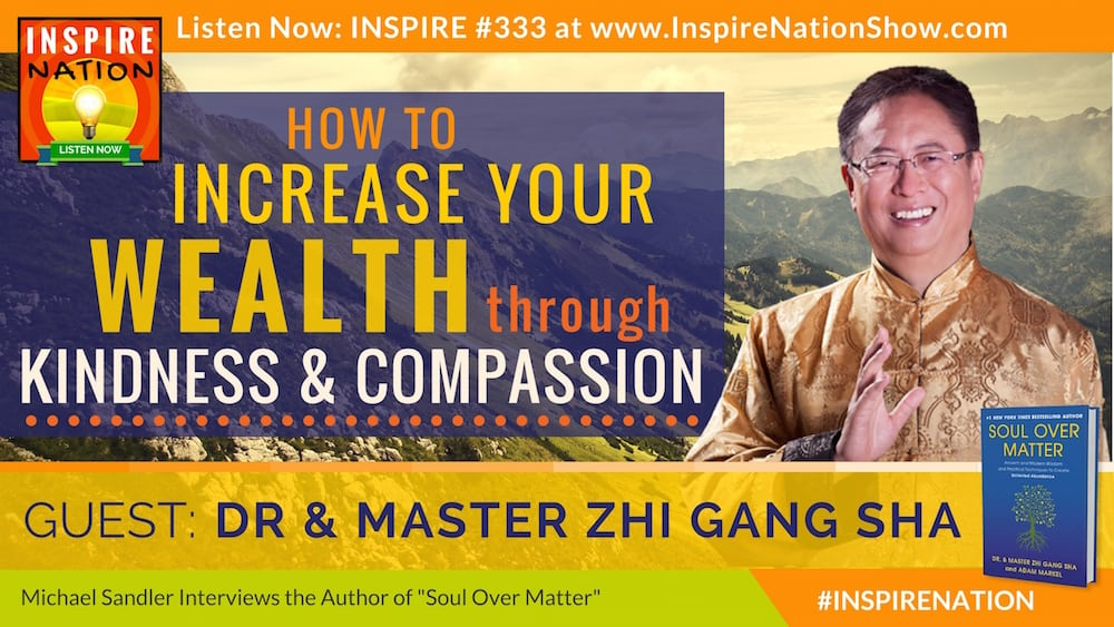 Listen to Michael Sandler's interview with Master Sha on Soul Over Matter!