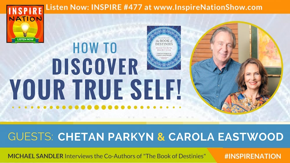 Listen to Michael Sandler's interview with Chetan Parkyn & Carola Eastwood on The Book of Destinies!