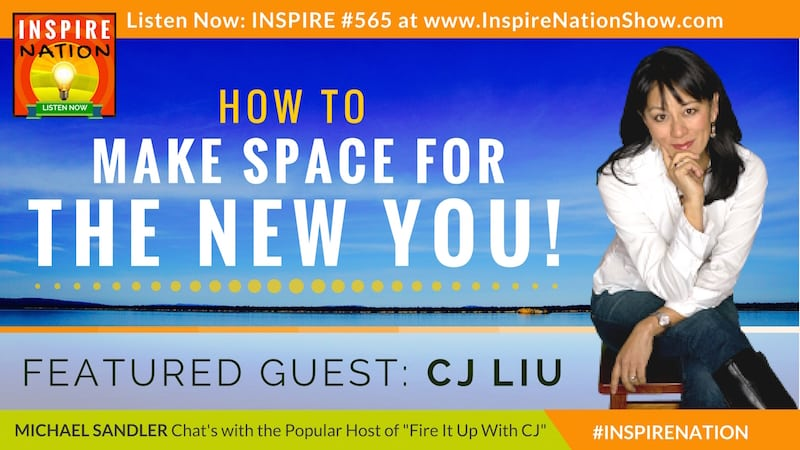 Michael Sandler & CJ Liu chat about what it takes to reinvent yourself (warning: you might experience discomfort)