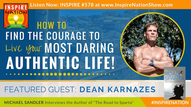 Michael Sandler interviews ultramarathon runner, Dean Karnazes on his latest book, The Road to Sparta!