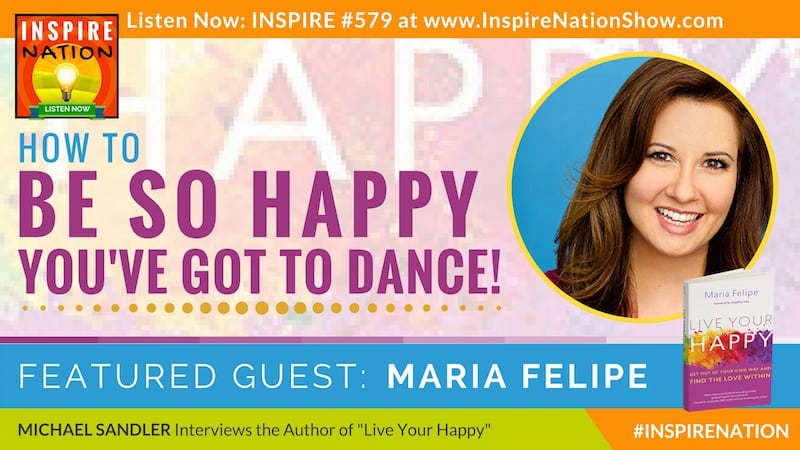 Michael Sandler interviews Rev Maria Felipe on how to use teachings from A Course in Miracles to find the source of your own inner happiness!