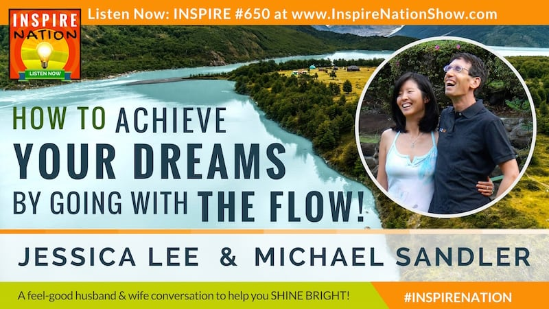 Michael Sandler & Jessica Lee discuss making space to just be, listen to sieze opportunities and make better decisions.