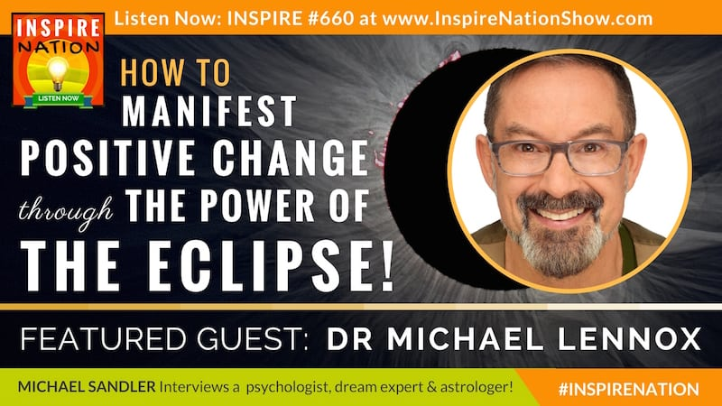 Michael Sandler interviews Dr Michael Lennox on the 2017 once in a lifetime total solar eclipse!