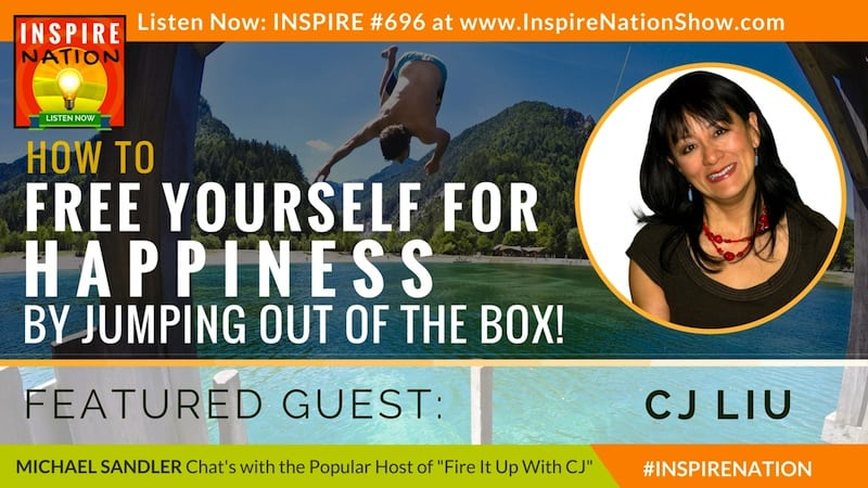 Michael Sandler and CJ Liu chat about letting go, getting uncomfortable and jumping out of the box!