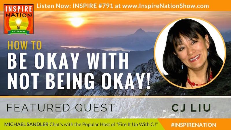 Michael Sandler & CJ Liu on how to be okay with not being okay!