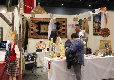 Booth displaying culture of Iraqi culture