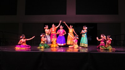 Semi classical Indian dance