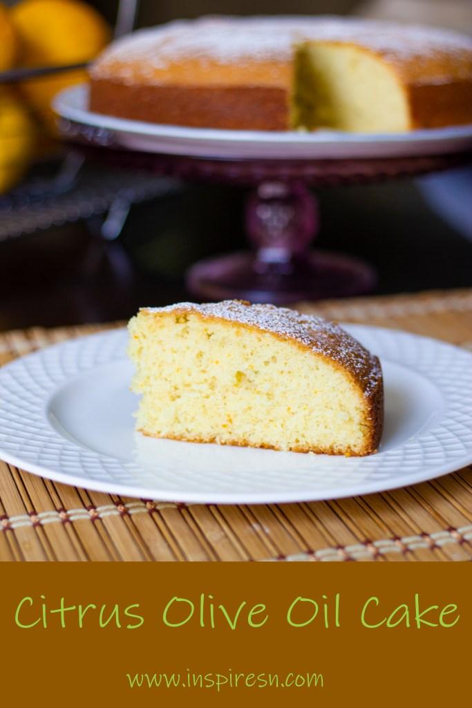 Citrus Olive Oil Cake recipe