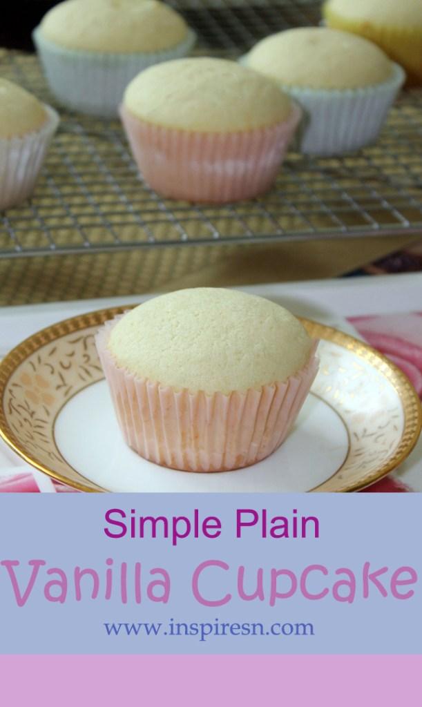 Plain cupcake recipe