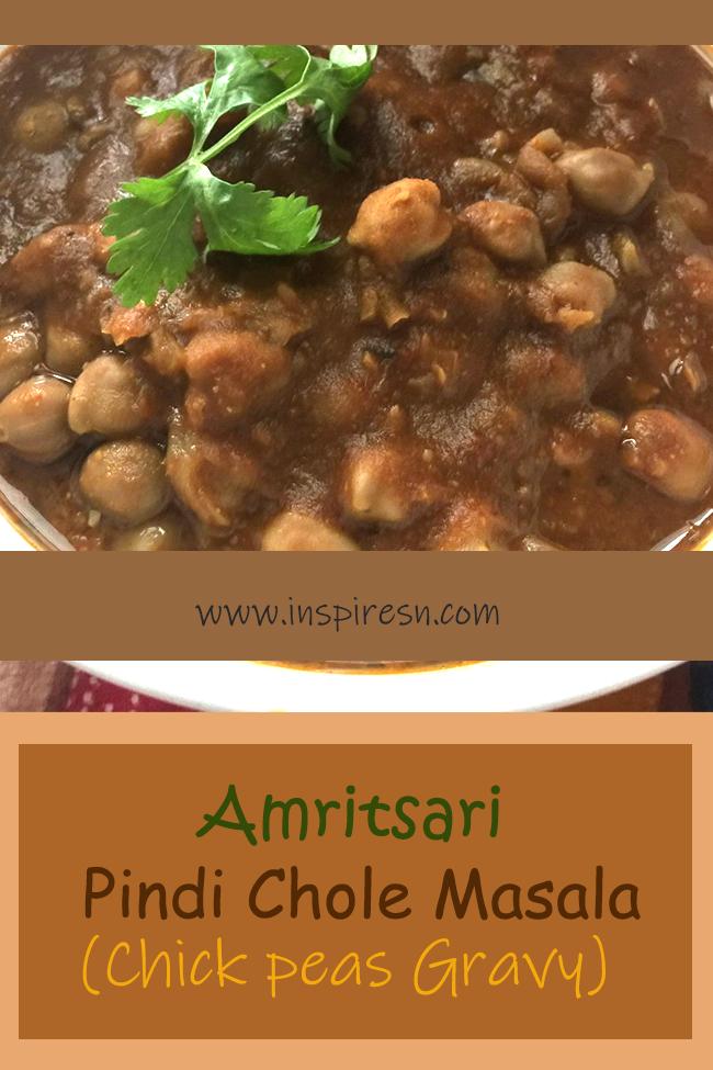 Amritsari Pindi Chole