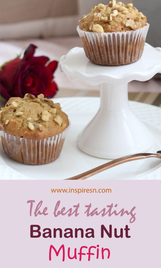 Simple Banana nut muffins