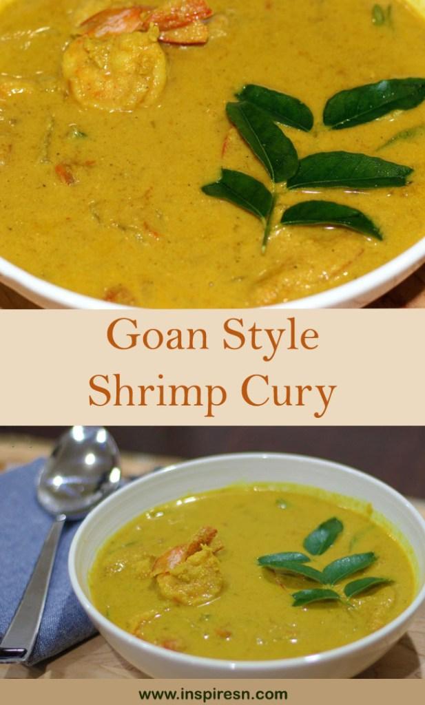 Goan style Prawn curry
