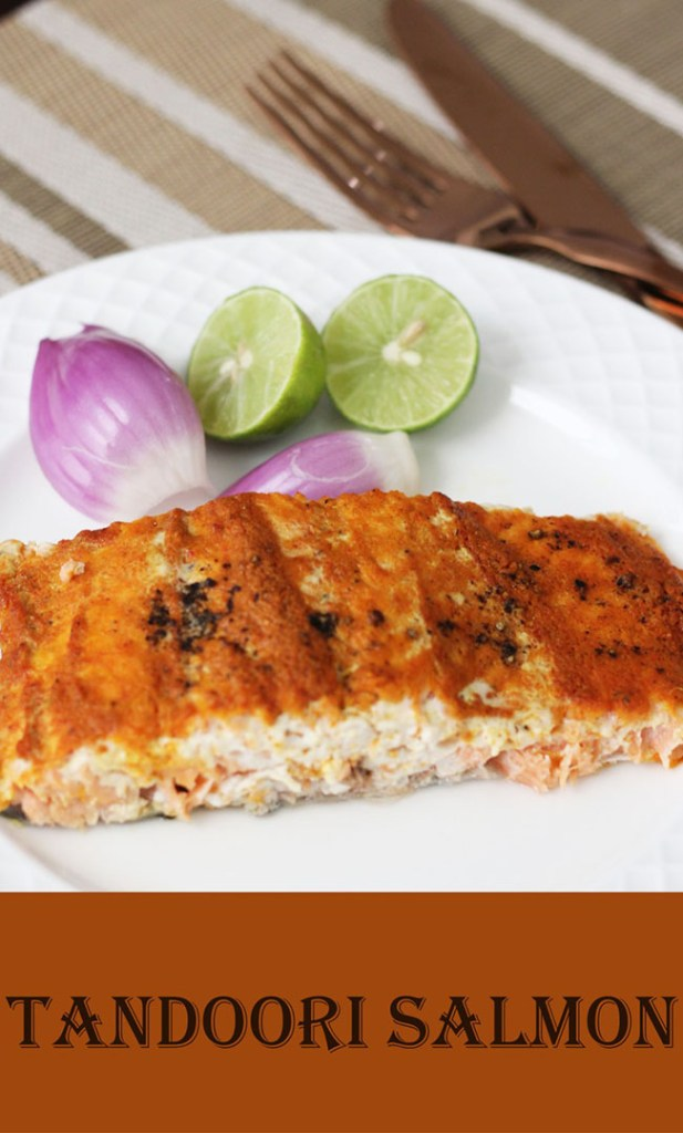Indian baked salmon recipe