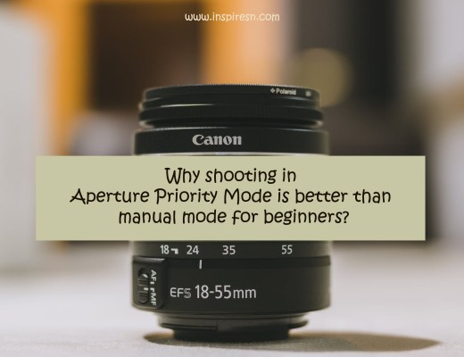 shooting in aperture priority mode