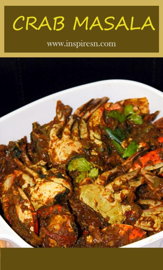 Crab Masala Fry