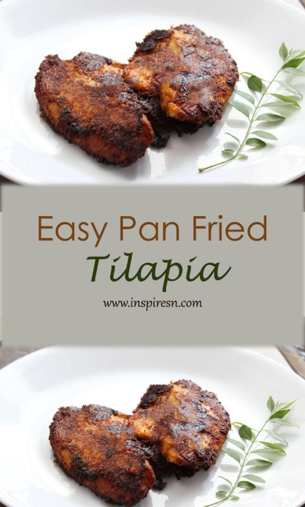 easy pan fried tilapia
