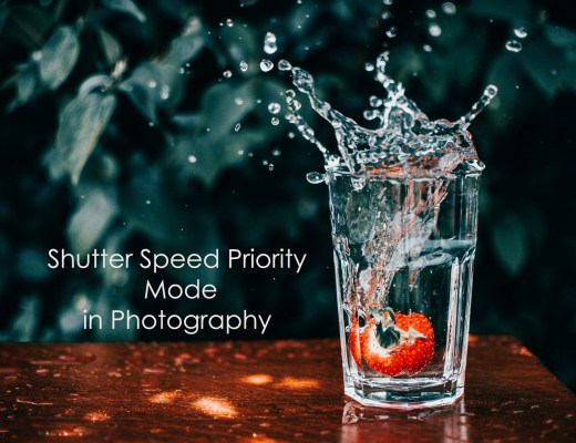 Shutter speed priority mode