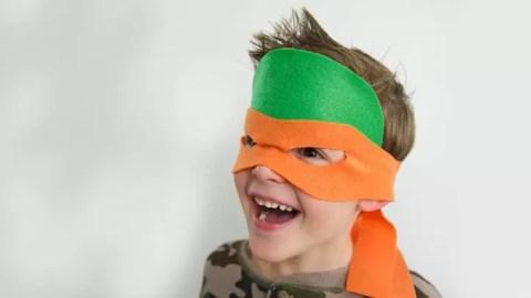Como fazer uma máscara e casco das Tartaturas Ninja