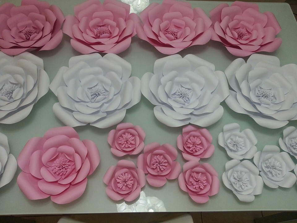 Inspire sua Festa u00ae Blog sobre festas e maternidade -> Decoração De Aniversário Com Flores Gigantes