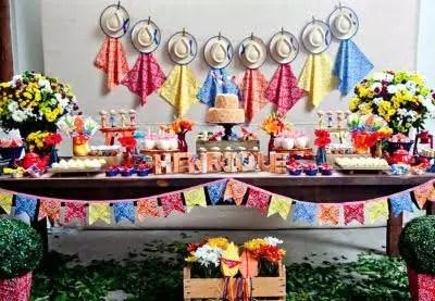 Como organizar uma festa com temática junina para as crianças