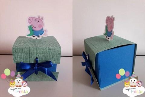 Lembrancinha Caixinha George Pig – Faça você mesmo