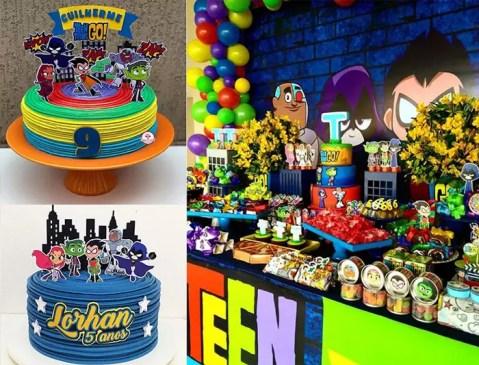 Festa Jovens Titãs – Mais de 50 ideias