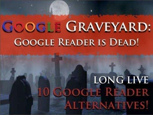 death of Google reader