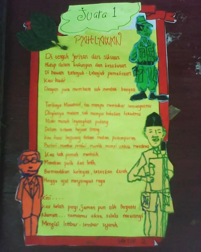 Puisi tentang pahlawan