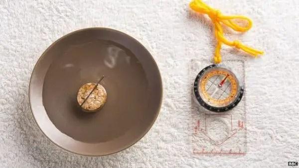 cara menentukan arah mata angin dengan kompas sederhana