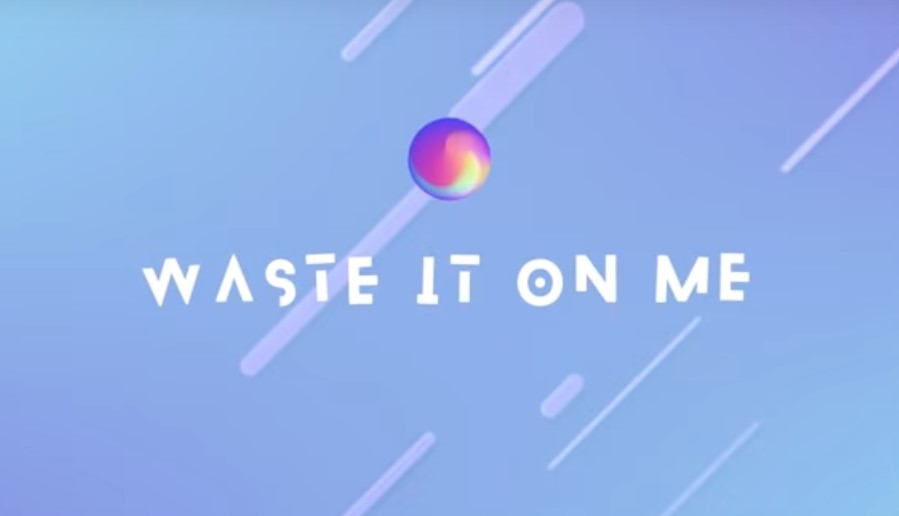 lirik lagu waste it on me BTS Steve Aoki