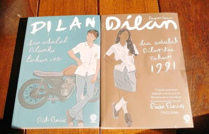 kata kata dilan dan milea dari film dan novel Dilan 1990 & 1991