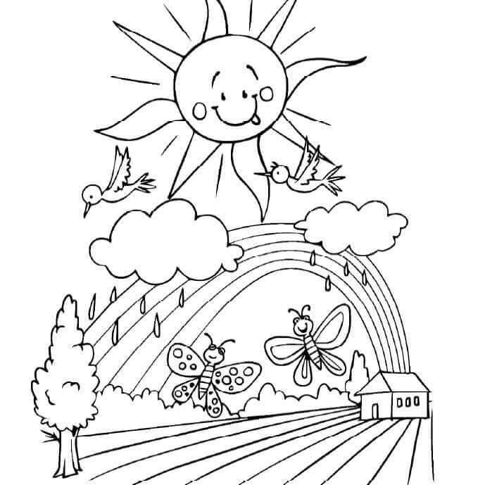 200 Gambar Mewarnai Yang Bagus Mudah Untuk Anak Anak Terbaru