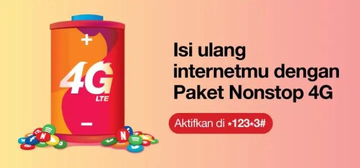 paket internet tri 4g