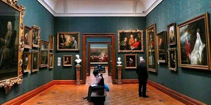tempat wisata di inggris National Gallery and Portrait Gallery
