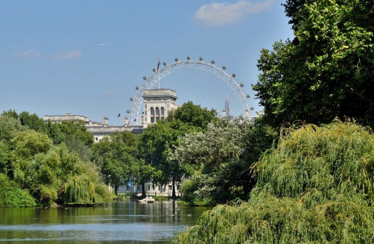 tempat wisata di inggris ST. james' Park London