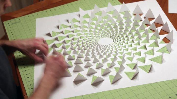 jenis kertas papercraft star dream
