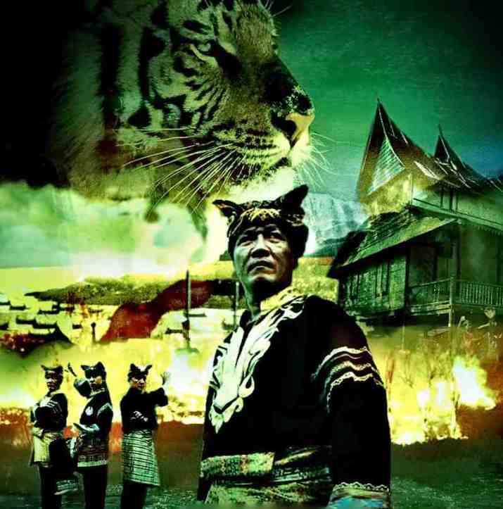 foto silat harimau minangkabau